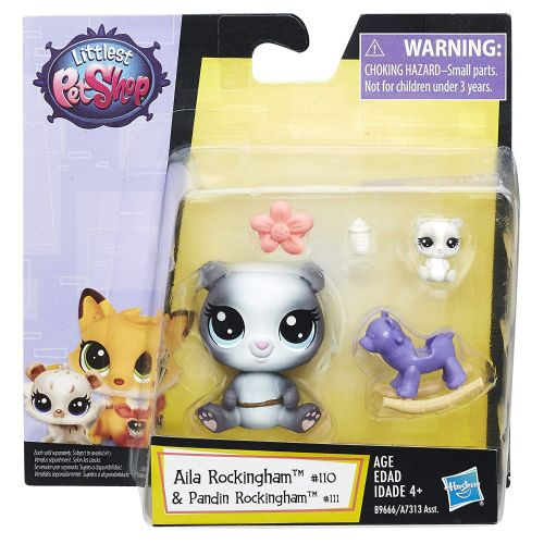 Littlest Pet Shop Aila Rockingham & Pandin Rockingham